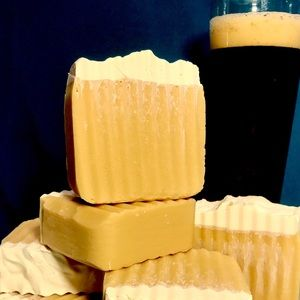 3 Handcrafted, All Natural, 3 BARS of BEER SOAP